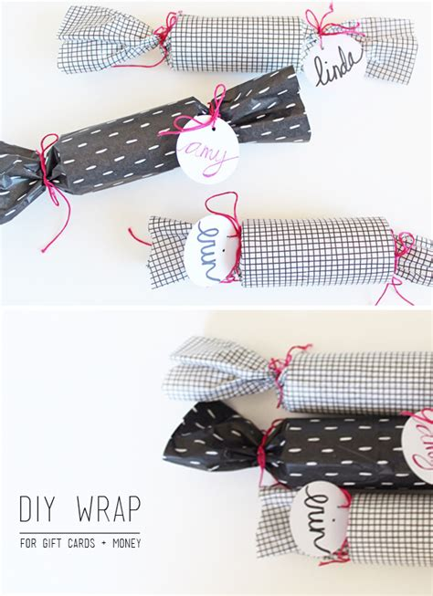how to wrap a gift card present wrap it up gift cards money thoughtfully simple