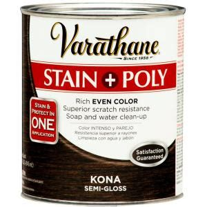varathane 1 qt kona stain and polyurethane 266153 the