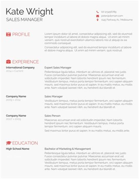55 Free Resume Templates For Ms Word Freesumes Com Free Minimalist Resume Template Word