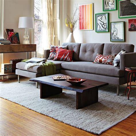 jackson sofa west elm jackson 2 piece chaise sectional west elm furniture