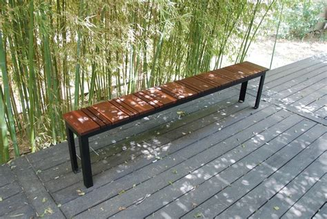 personalized benches outdoor hand made sol outdoor bench by sarabi studio custommade com