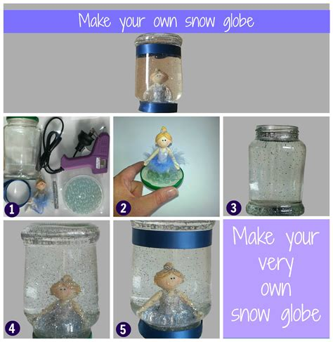 How To Find Interesting Snow Globe Make Your Own Step By Step