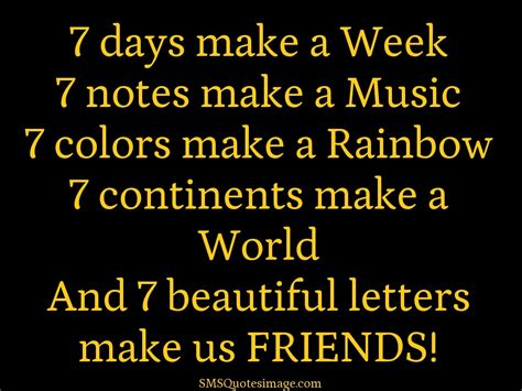 7 Ways To Make Friends With The Neighbors by 7 Beautiful Letters Make Us Friends Friendship Sms