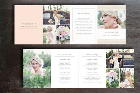 photography brochure templates pricing guide photography brochure templates on creative