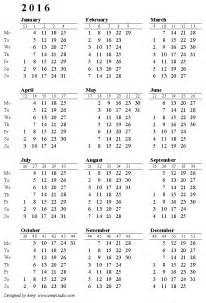 Cso Calendar Printable Calendar With Week Numbers Printable Calendar 2017