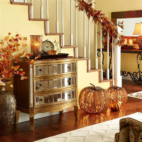 fall home decor ideas 30 cozy fall staircase d 233 cor ideas digsdigs