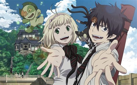 anime exorcist anime review ao no exorcist blue exorcist the geek