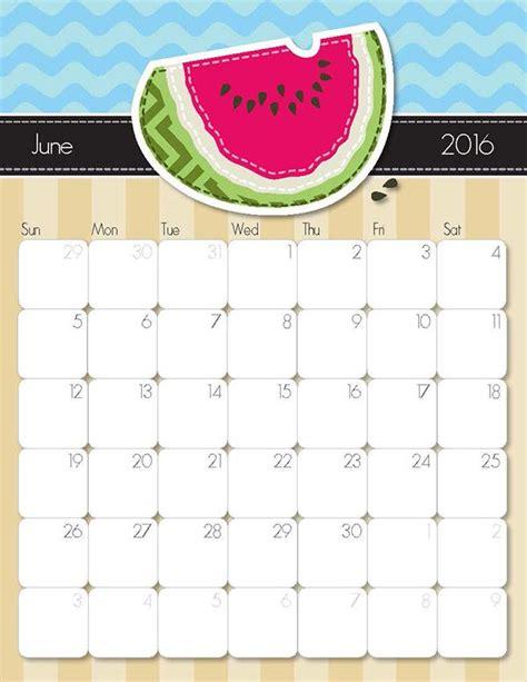 whimsical  printable calendar   love calendar