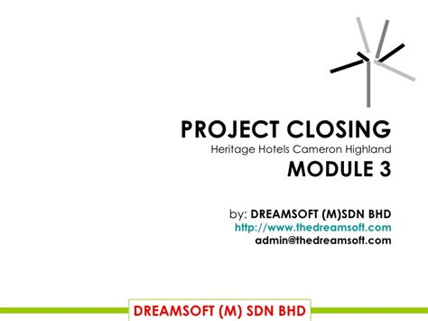 Final Project Closing Project Closure Report Template Ppt