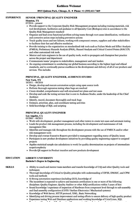 sample resume for a midlevel quality engineer creative depiction