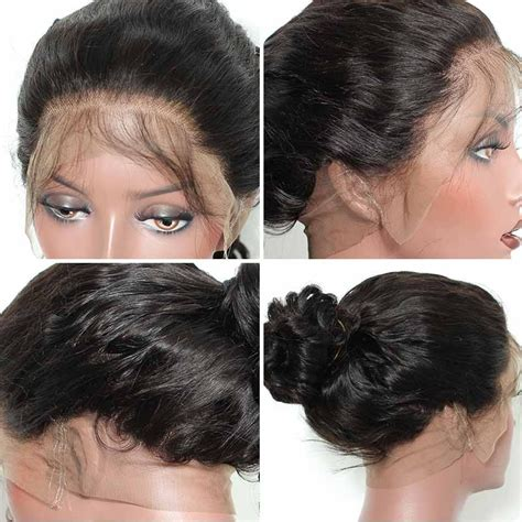 360 degree hairstyle photos 360 lace wigs brazilian virgin hair circular deepwave full