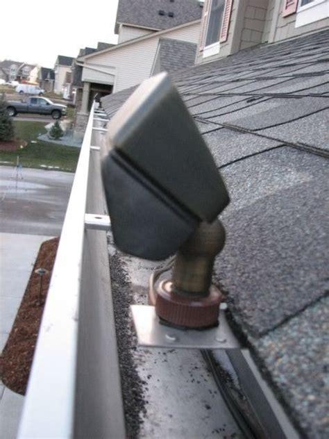 gutter mount dormer lighting house exterior and