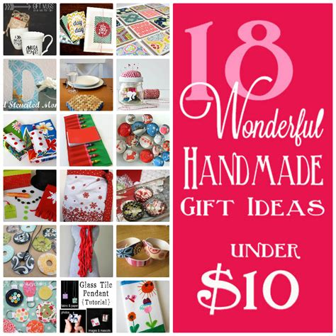 Gift Ideas 10 - 18 handmade gifts 10 skip to my lou