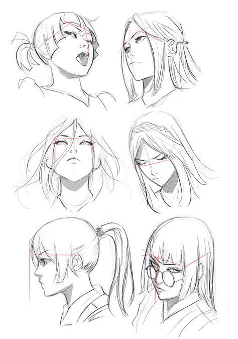 imagenes con varias perspectivas dibujando en perspectiva 1 la cabeza blog concurso manga