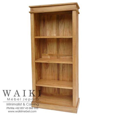 Jual Rak Buku Tangerang jual rak buku minimalis kayu jati jepara kualitas ekspor indonesia