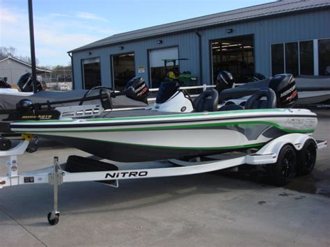 used bass boat reviews nitro z series z19 bass boats new in warsaw mo us