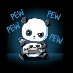 pew pew panda funny cute amp nerdy shirts teeturtle
