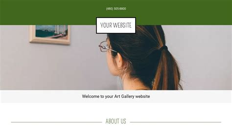 Art Gallery Website Templates Godaddy Godaddy Template Gallery