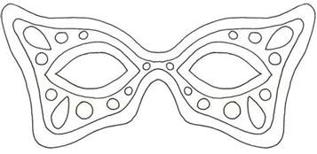 Mardi Gras Mask Template by 17 Free Mardi Gras Mask Templates For And Adults