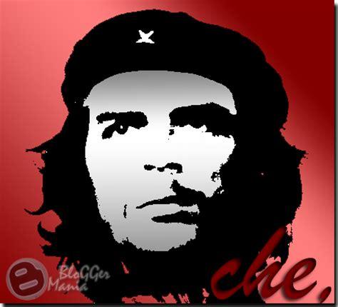 Kaos Revolution Che Guevara efek foto threshold photoshop che guevara raka adjie p