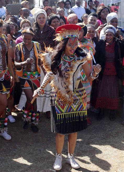 zulu design clothes the proudly zulu bride loving the attire the dark