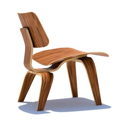 dxf eames plywood chair