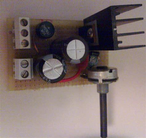 alimentatore stabilizzato lm317 alimentatore lm317