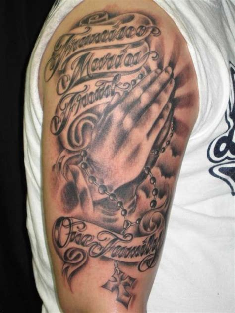 in gods hands tattoo god s