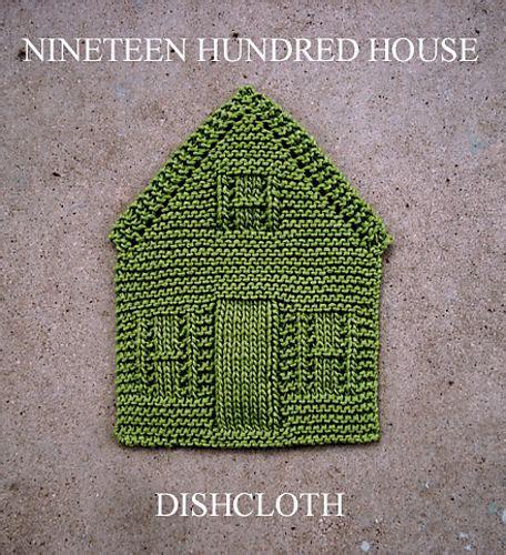 house dishcloth pattern nineteen hundred house dishcloth pattern by amanda ochocki
