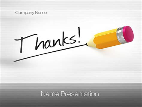 ppt templates for thanks thanks presentation template for powerpoint and keynote
