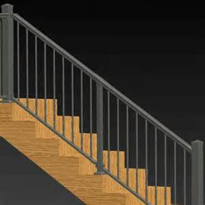 Aluminium Handrails For Stairs by Adjustable Angle Stair Rail Kit By Solutions Aluminum