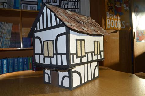 how to house a year ralph sadleir school 187 year 5 s home made tudor houses