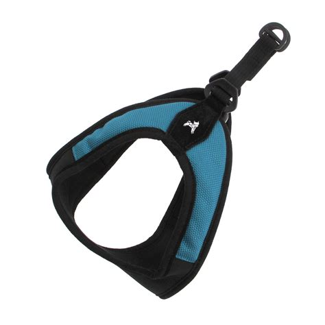 gooby harness gooby easy fit harness turquoise baxterboo