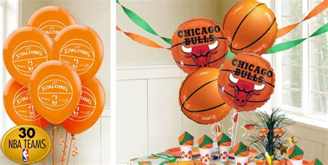 Nba Baby Shower Theme by Basketball Balloons City