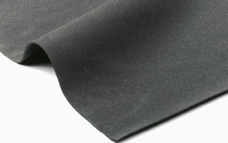 Gabus Rubber Cortica T 6mm black neoprene rubber sheets 1m x 2m x 6mm
