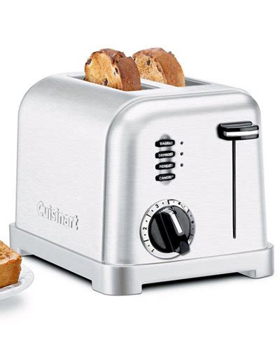 Calphalon Toaster 4 Slice Cuisinart Cpt 160 Toaster 2 Slice Classic Brushed Chrome