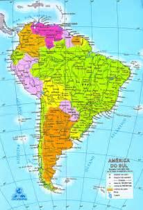 mapa de am 233 rica sur sudam 233 rica mapa da am 233 rica do