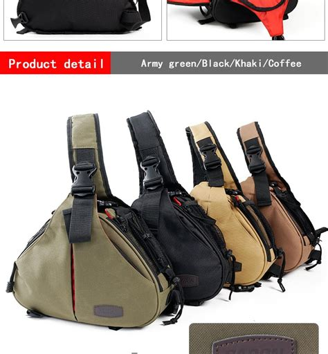 National Geographic Sc 01a Canon Sling Bag Tas Kamera Caden Selling Trendy Triangle Sling Shoulder Bag K1