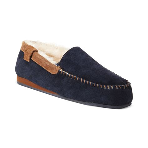 emu slippers emu shoes huntley slippers in blue for midnight blue