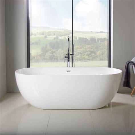 soakology bathrooms bath tubs azure 1800mm double ended freestanding bath