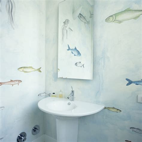 fishing themed bathroom decor fish theme photos design ideas remodel and decor lonny