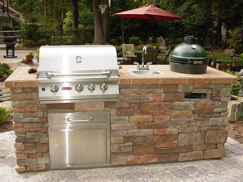 Small Outdoor Kitchen Design outdoor kitchens labor tech landscaping st louis