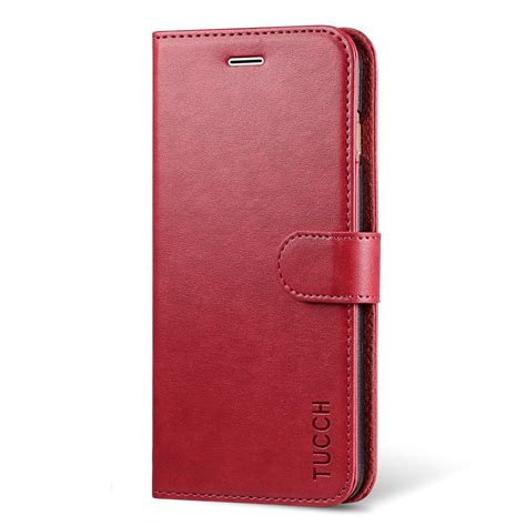 tucch iphone 7 plus wallet iphone 8 plus pu leather flip wallet