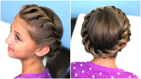 twist updo hairstyles crown rope twist braid updo hairstyles cute girls