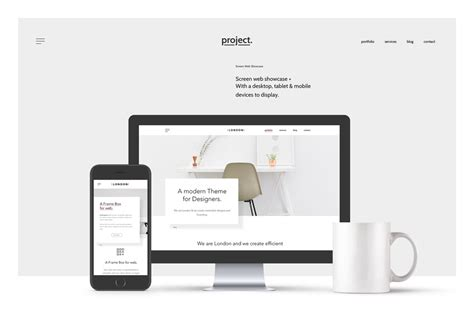 design mockup website free responsive web design showcase mockup mockupworld