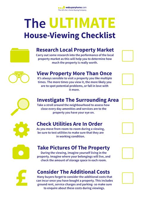 checklist when viewing a house to buy the ultimate house viewing checklist we buy any home