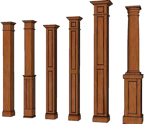 decorative square columns