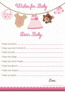 wishes for baby card baby shower wishes by artisacreations