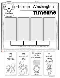 george washington biography for third grade 15 best images of first grade timeline worksheets george