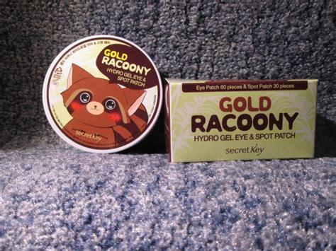 Secret Key Gold Racoony secret key gold racoony hydrogel eye spot patch как я завела дружбу с енотом отзывы косметиста
